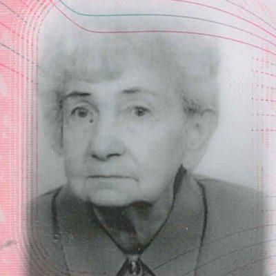 Nekrolog Zofia Rybińska