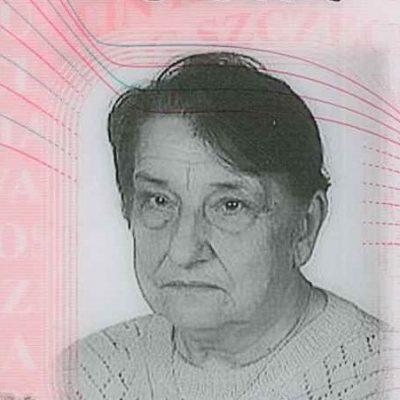 Nekrolog Zofia Choińska